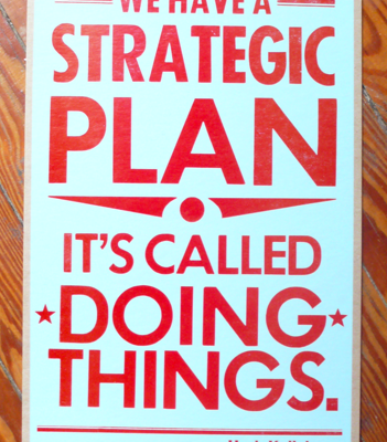 Thursday's Confessions – Strategic Plan