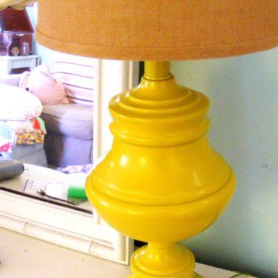 make do {and make lovely} mondays-thrift store lamp