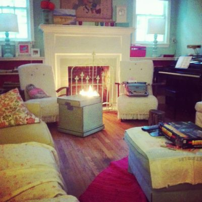 make do {and make lovely} monday – what I did on my couch rest