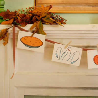 make do (and make lovely) – fall themed mantle