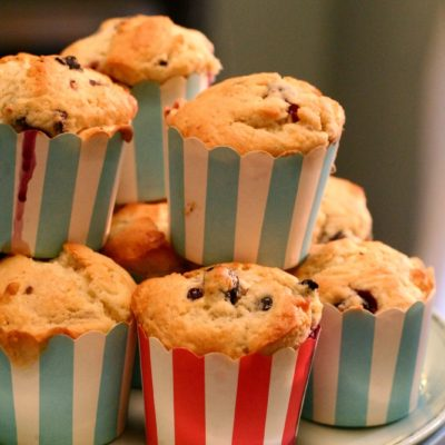 Blueberry Muffins and Being Present
