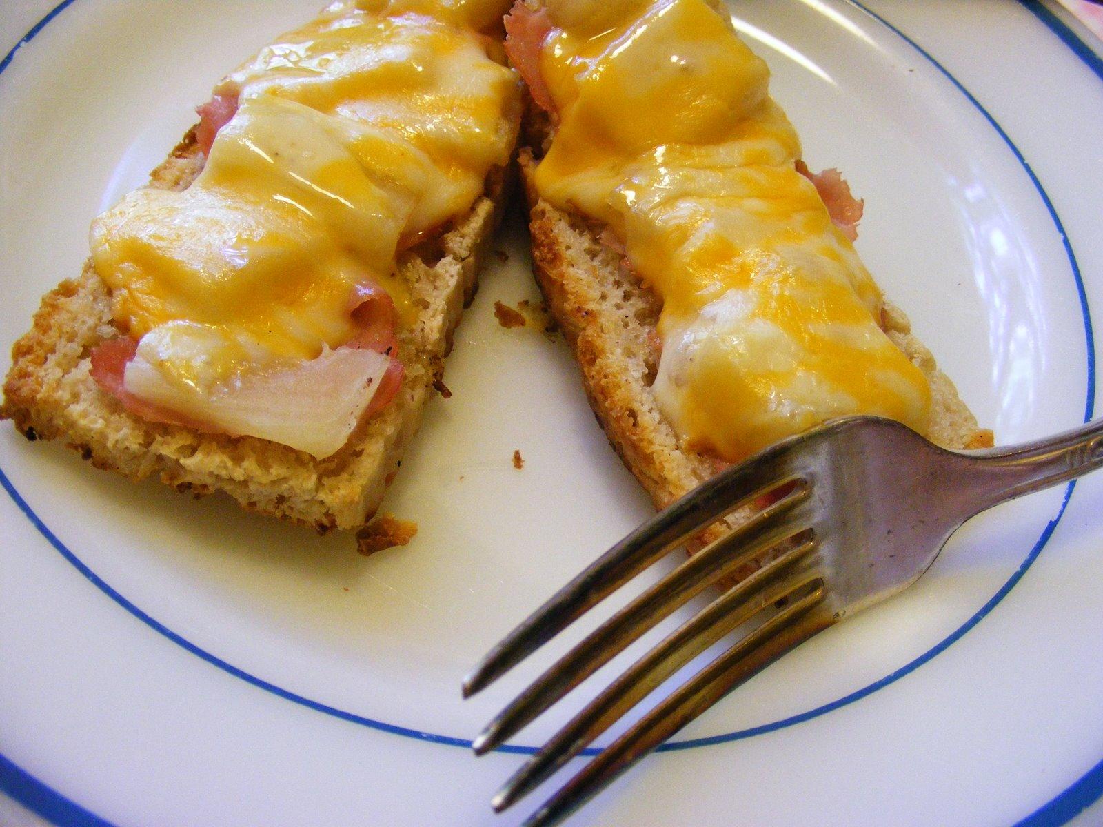 Kitchen Talk -Open-Faced Hawaiian Sandwich