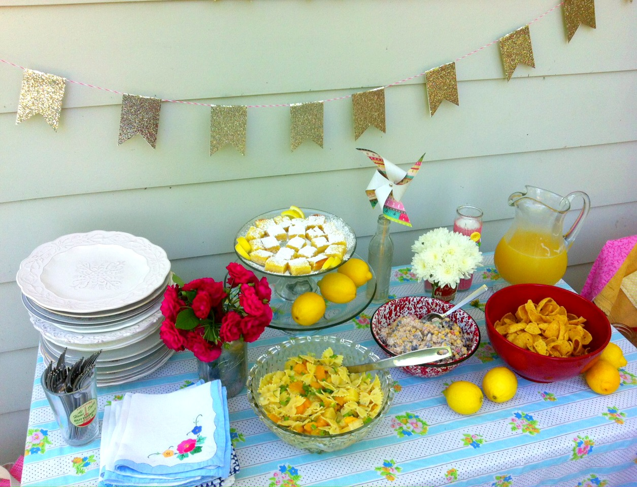 A Homemade Year Summer Party