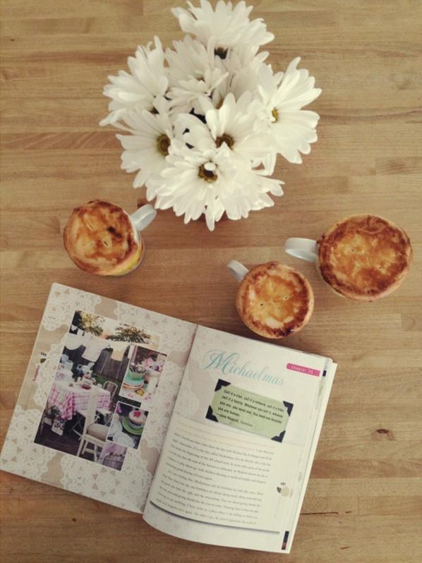 mug-o-pie and a giveaway and thoughts on abundance