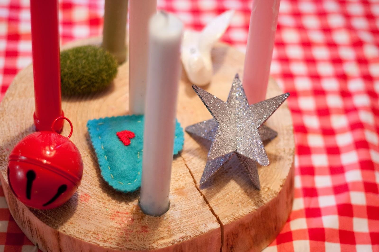 Woodland Family Advent Wreath