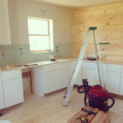We're Getting There! A #SlowHome Kitchen Update