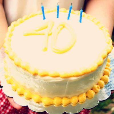Nathaniel Turns 40