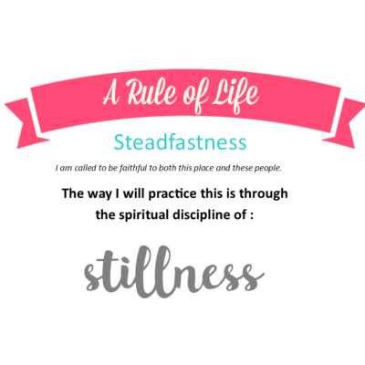 The Spiritual Practice of Being Present: Practicing Steadfastness through Stillness