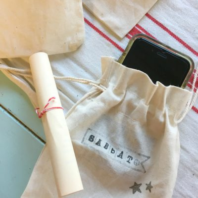 Sabbath Bags for the Cell Phone